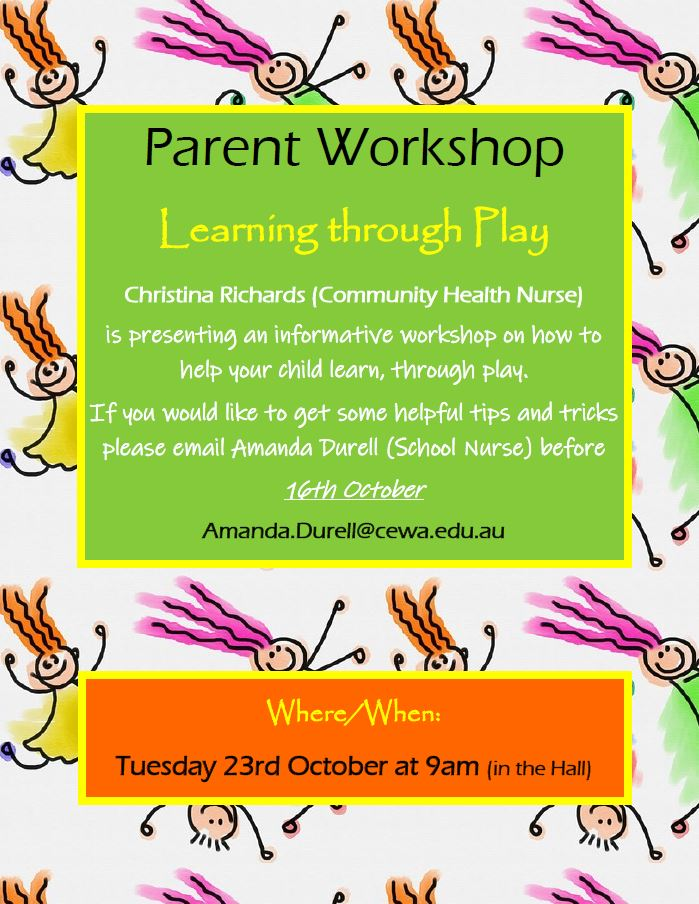 Parent Workshop - Term 4 - Learn Through Play.JPG